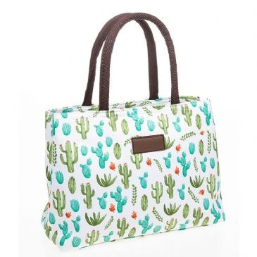 Cactus Waterproof Grab Tote Hand Bag Perfect for Holidays/Travel